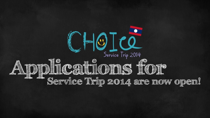*CHOICE Service Trip 2014 Volunteer Recruitment!*